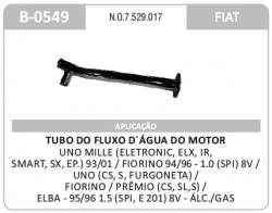 TUBO DO FLUXO AGUA UNO MILLE/FIORINO/ELBA